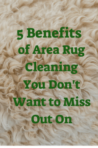 5 benefits of area rug cleaning you don't want to miss out on