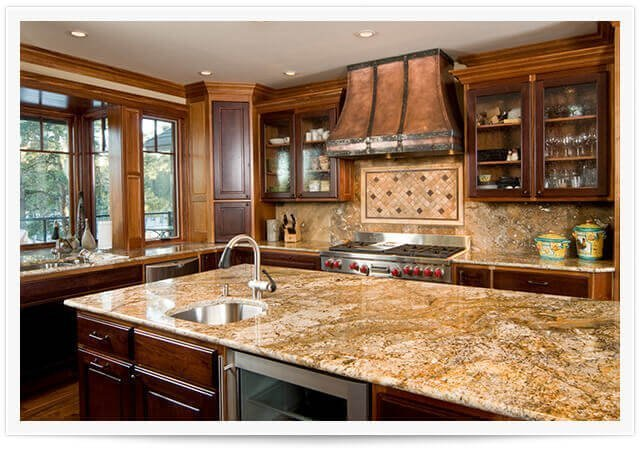 granite counters in lafayette kitchen