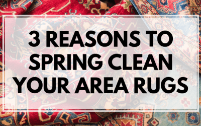 3 Reasons To Spring Clean Your Area Rugs
