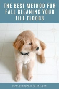 The Best Method For Fall Cleaning Your Tile Floors