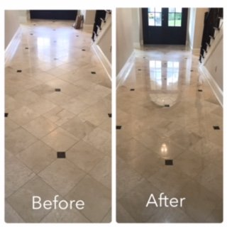 before and after tile cleaning lafayette la