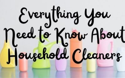 Everything You Need to Know About Household Cleaners